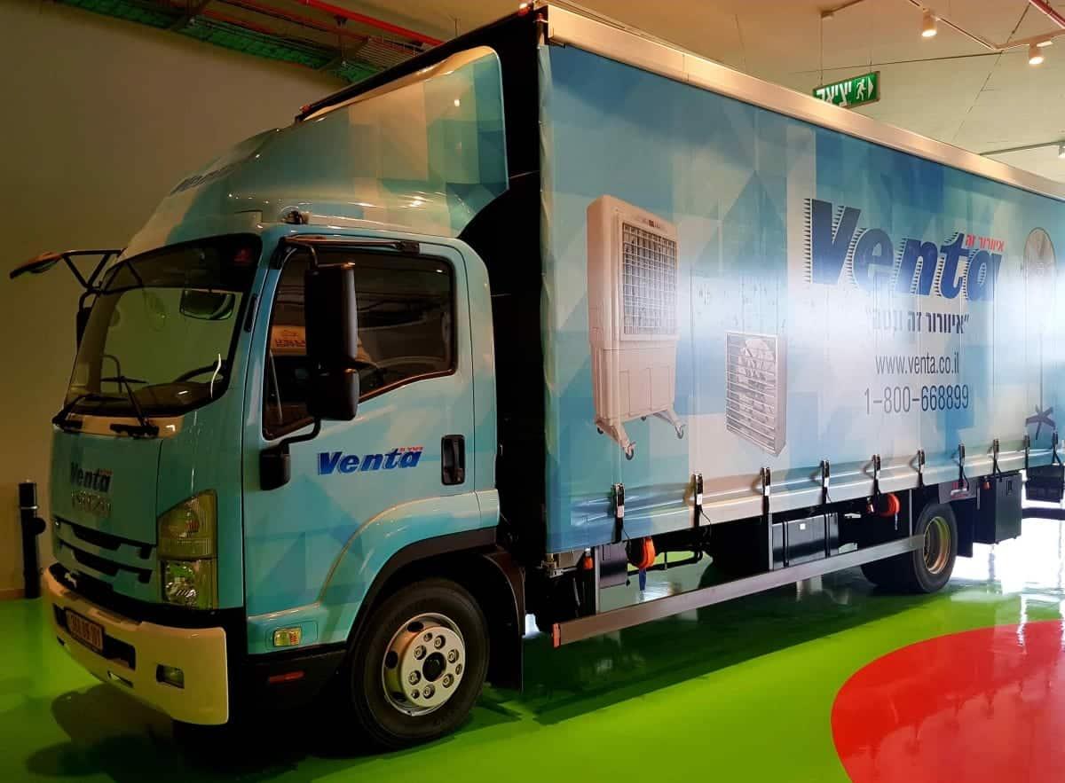 משאית איסוזו של ונטה