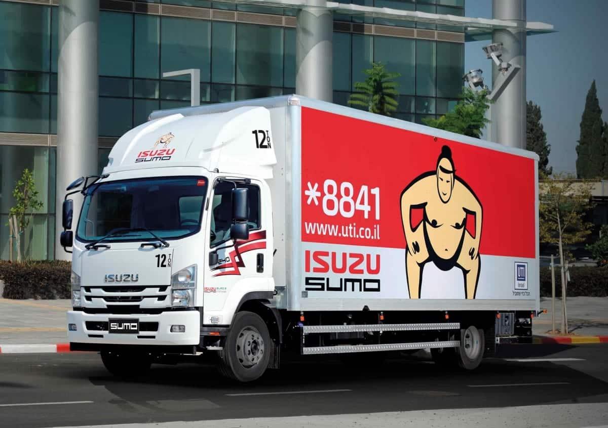 משאית איסוזו למכירה