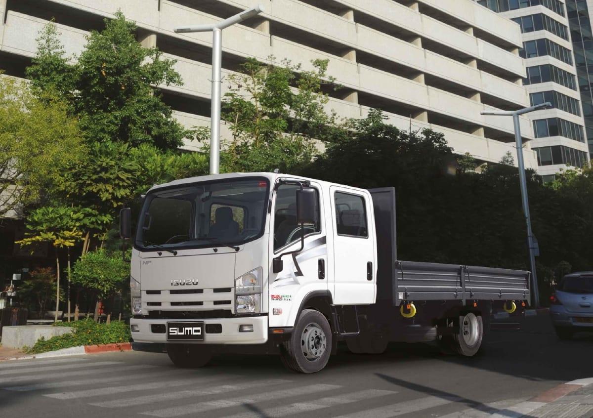 משאית איסוזו ללא ארגז