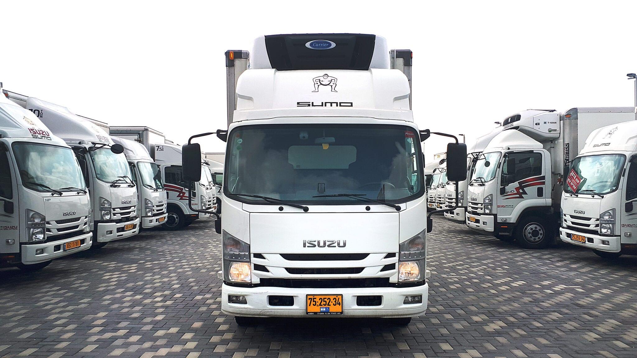 טון 7.5 קרור עצמאית | איסוזו אתר מכירות משאיות יד שניה