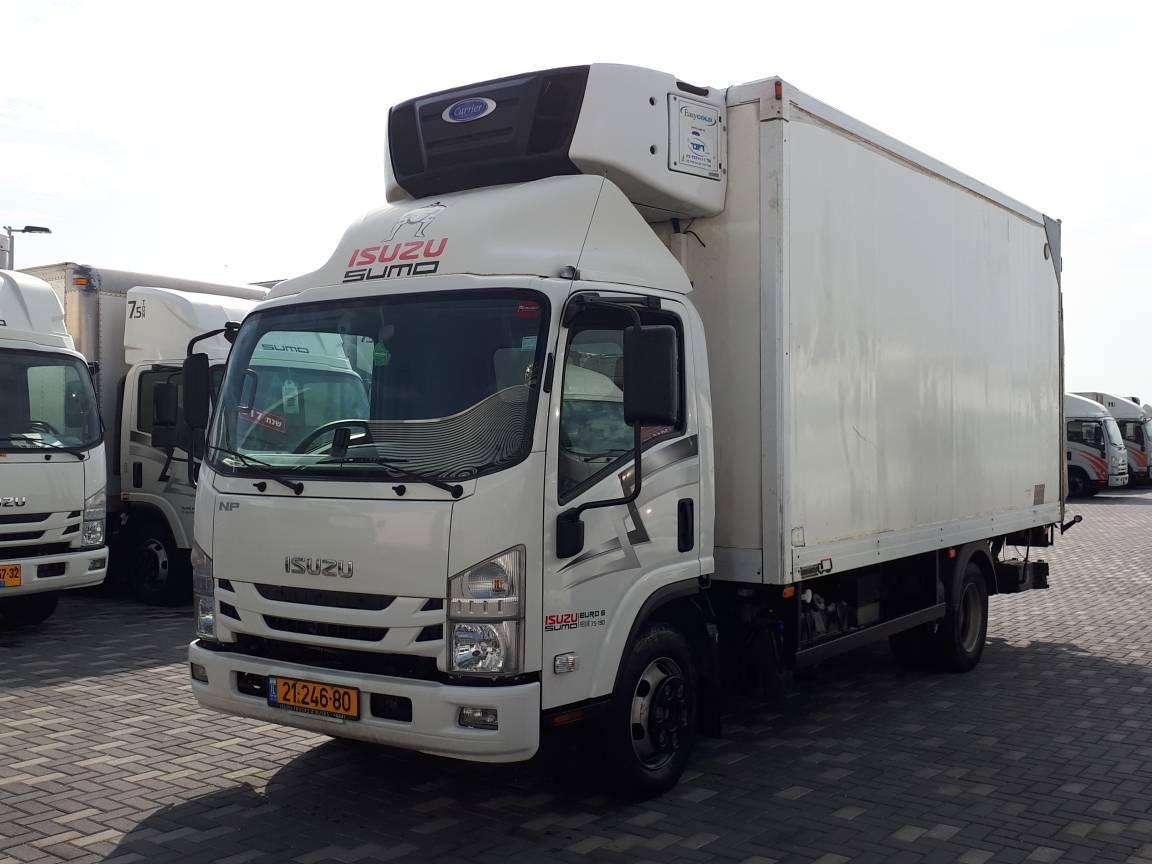 טון 7.5 - קרור עצמאית | איסוזו אתר מכירות משאיות יד שניה