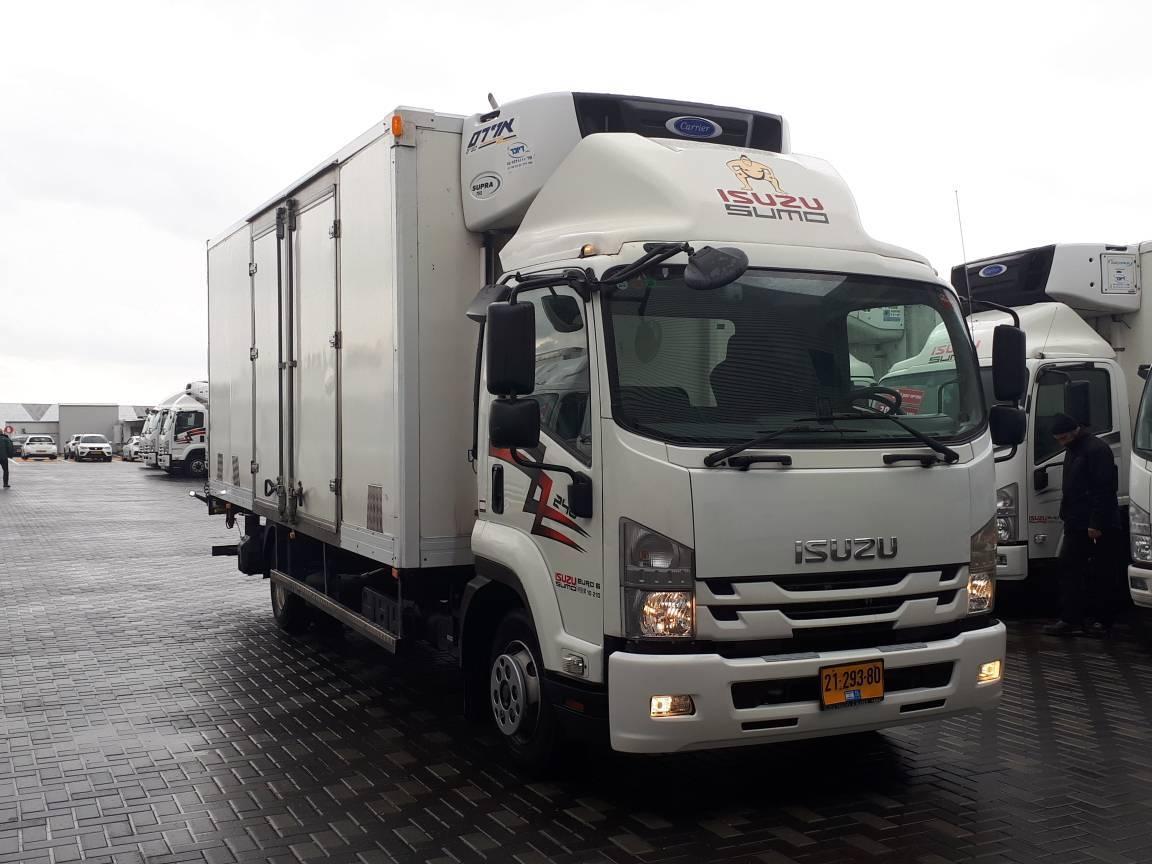 טון 10 קרור עצמאית | איסוזו אתר מכירות משאיות יד שניה