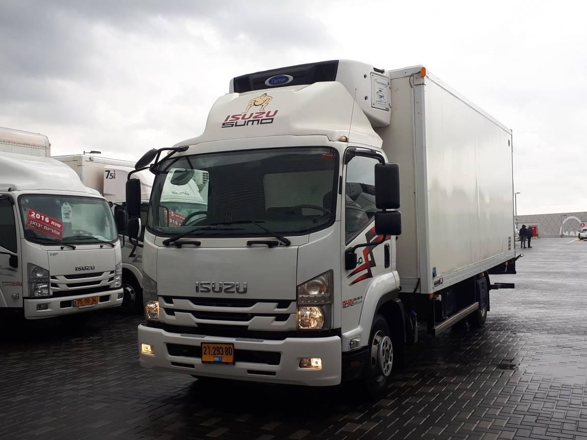 טון 10 - קרור עצמאית | איסוזו אתר מכירות משאיות יד שניה