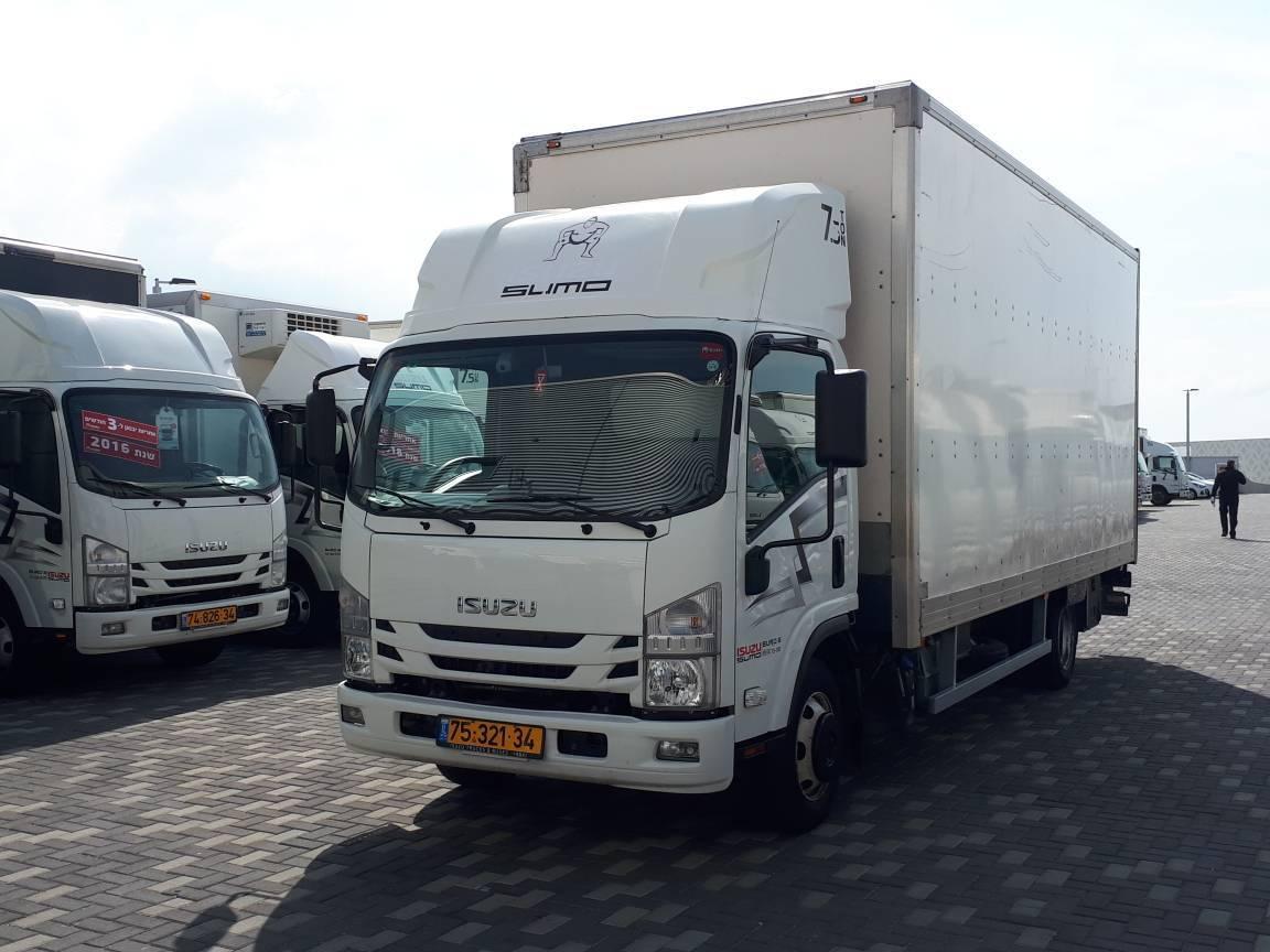 טון 7.5 - ארגז סגור | איסוזו אתר מכירות משאיות יד שניה